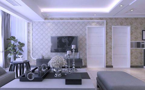 2018现代150平米效果图 2018现代四居室装修图