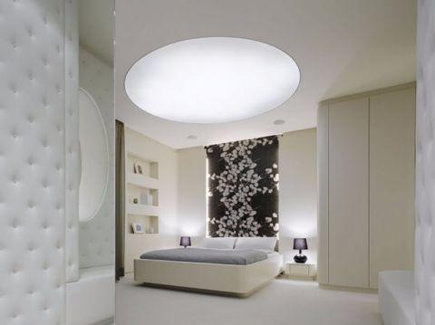 卧室黑色照片墙现代简约风格装饰图片