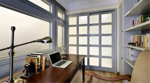 青枫公馆130平米美式风格三居室装修效果图