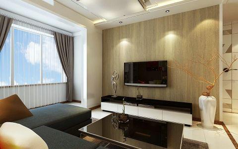 2020后现代90平米效果图 2020后现代二居室装修设计