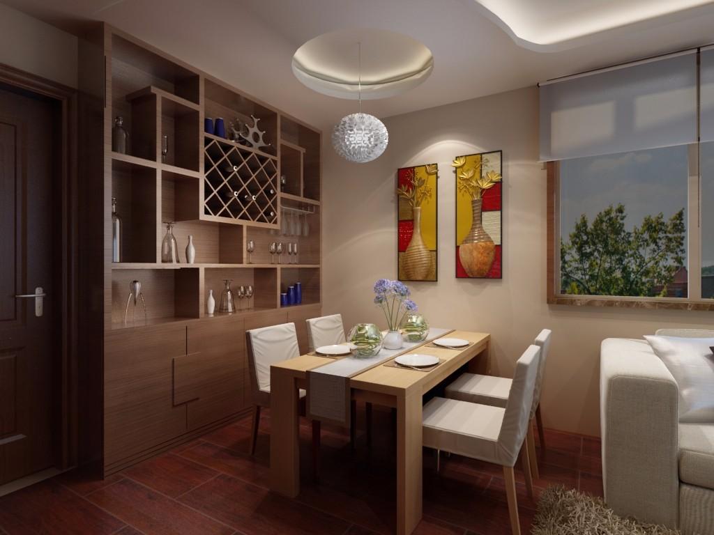 2室1卫2厅60平米现代简约风格
