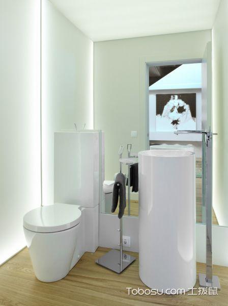 卫生间北欧风格效果图大全2017图片_土拨鼠潮流质感卫生间北欧风格装修设计效果图欣赏