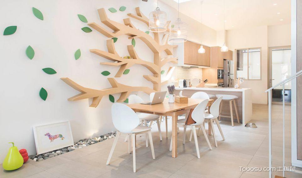 100㎡/北欧/公寓装修设计