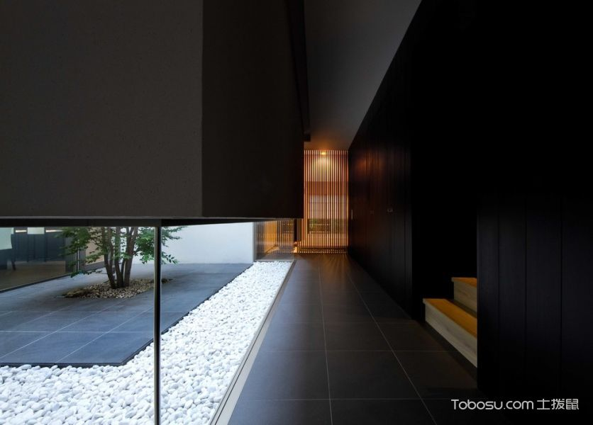 走廊日式风格效果图大全2017图片
