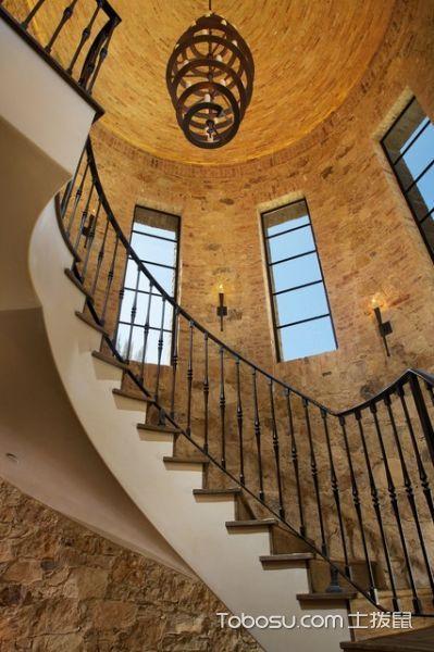2021地中海设计图片 2021地中海楼梯装修效果图片