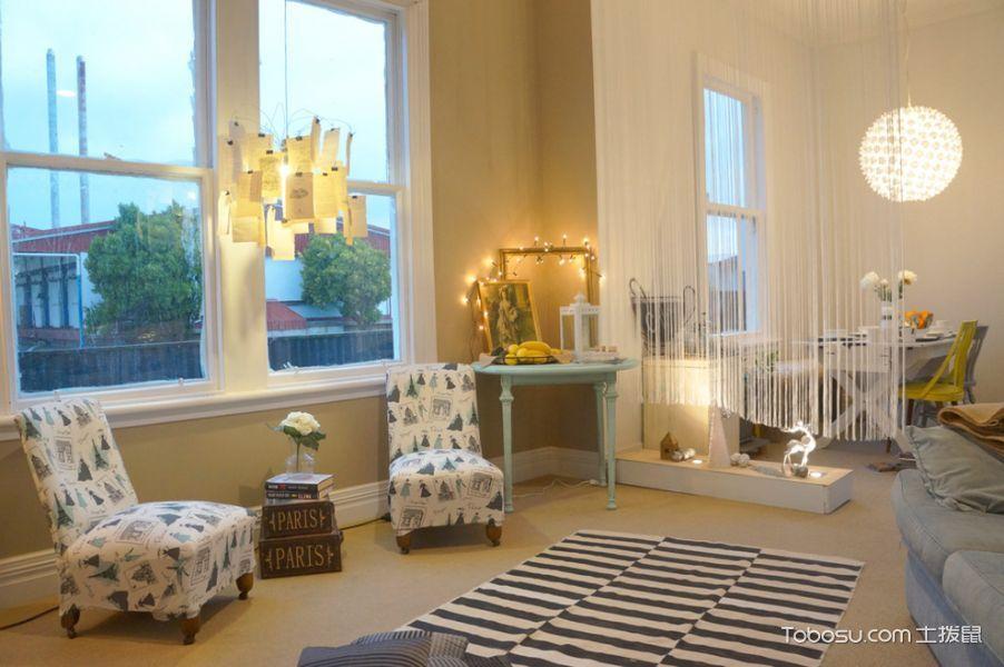 客厅飘窗混搭风格装修效果图