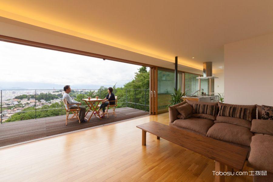 阳台窗台现代风格装潢图片
