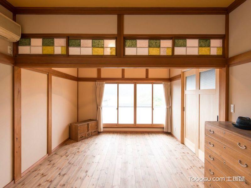 100㎡/日式/三居室装修设计