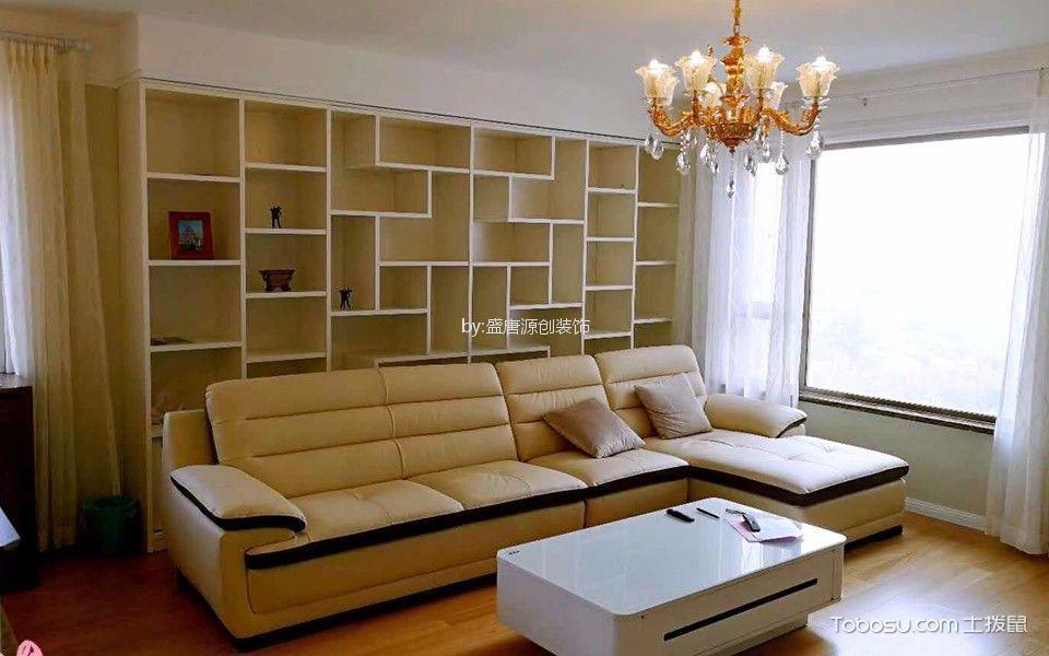 北京蒋台路海润国际公寓142平米现代简约风格效果图