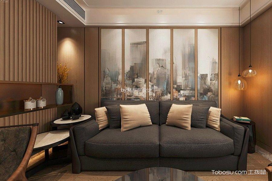 杏林湾一号128平米现代风格三居室装修效果图