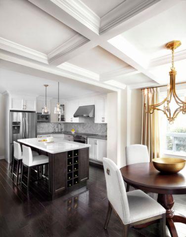 2020美式50平米装修图片 2020美式公寓装修设计