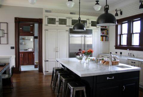 厨房美式风格效果图大全2017图片_土拨鼠极致格调厨房美式风格装修设计效果图欣赏