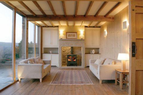 客厅北欧风格效果图大全2017图片_土拨鼠精致温馨客厅北欧风格装修设计效果图欣赏