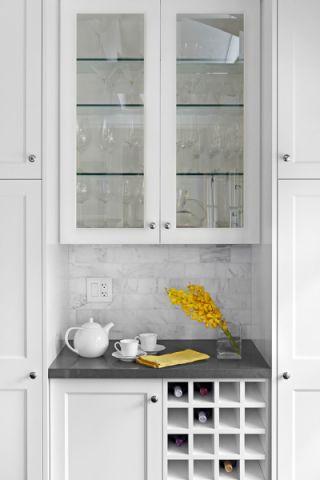厨房北欧风格效果图大全2017图片_土拨鼠个性时尚厨房北欧风格装修设计效果图欣赏