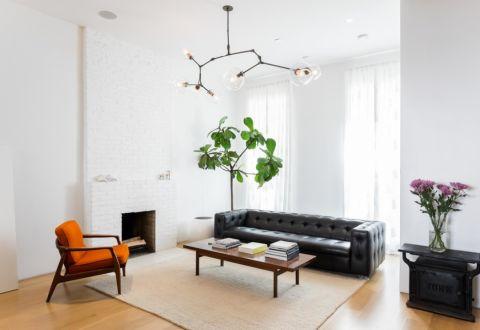 2018北欧110平米装修图片 2018北欧三居室装修设计图片