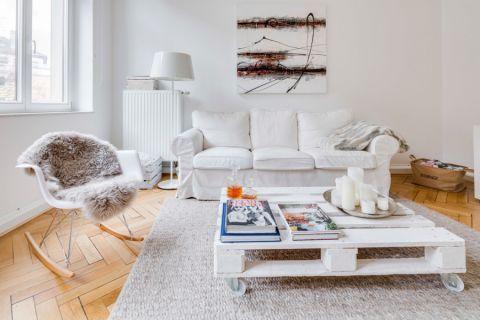 2020北欧70平米装修效果图大全 2020北欧二居室装修设计