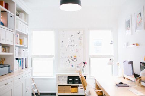 书房北欧风格效果图大全2017图片_土拨鼠简约个性书房北欧风格装修设计效果图欣赏