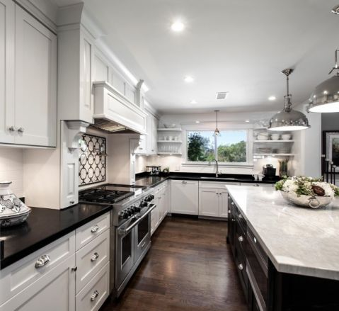 华丽厨房装潢图片