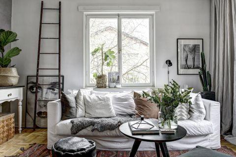 卧室北欧风格效果图大全2017图片_土拨鼠美感时尚卧室北欧风格装修设计效果图欣赏