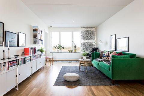 客厅北欧风格效果图大全2017图片_土拨鼠美好创意客厅北欧风格装修设计效果图欣赏