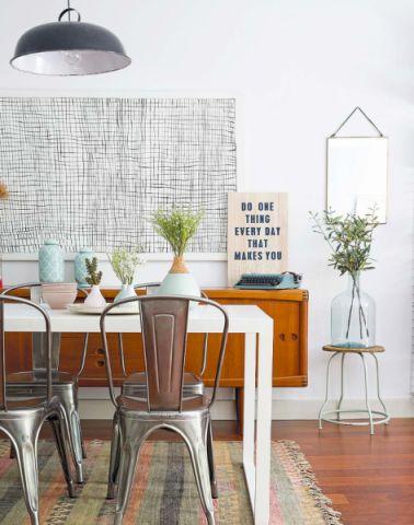 餐厅北欧风格装饰图片