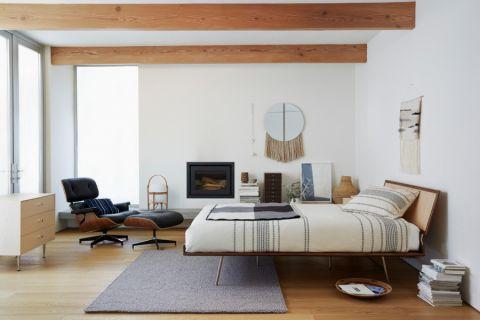 卧室北欧风格装潢效果图