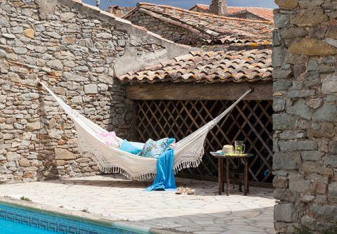 泳池地中海风格装潢图片
