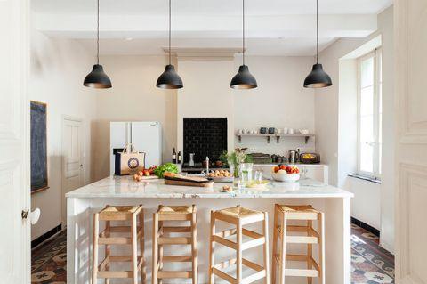 厨房厨房岛台地中海风格装饰设计图片