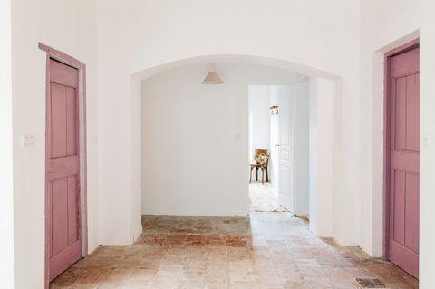 走廊地中海风格效果图