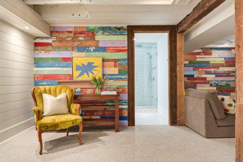 地下室混搭风格装潢设计图片