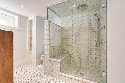 卫生间混搭风格装潢效果图