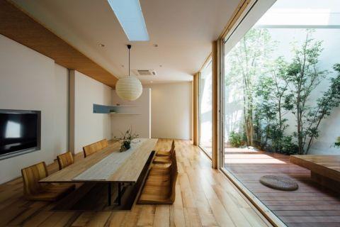 客厅日式风格效果图大全2017图片_土拨鼠优雅淡雅客厅日式风格装修设计效果图欣赏