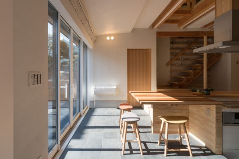 餐厅日式风格效果图大全2017图片_土拨鼠温暖纯净餐厅日式风格装修设计效果图欣赏