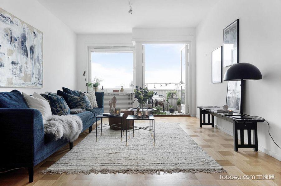 客厅北欧风格效果图大全2017图片_土拨鼠清新摩登客厅北欧风格装修设计效果图欣赏