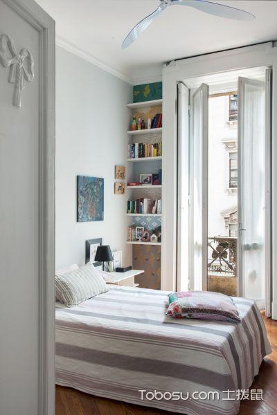 卧室飘窗混搭风格装潢图片