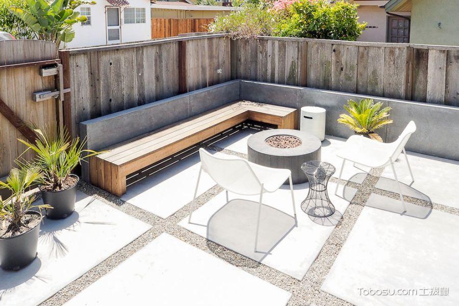 阳台背景墙混搭风格装饰设计图片
