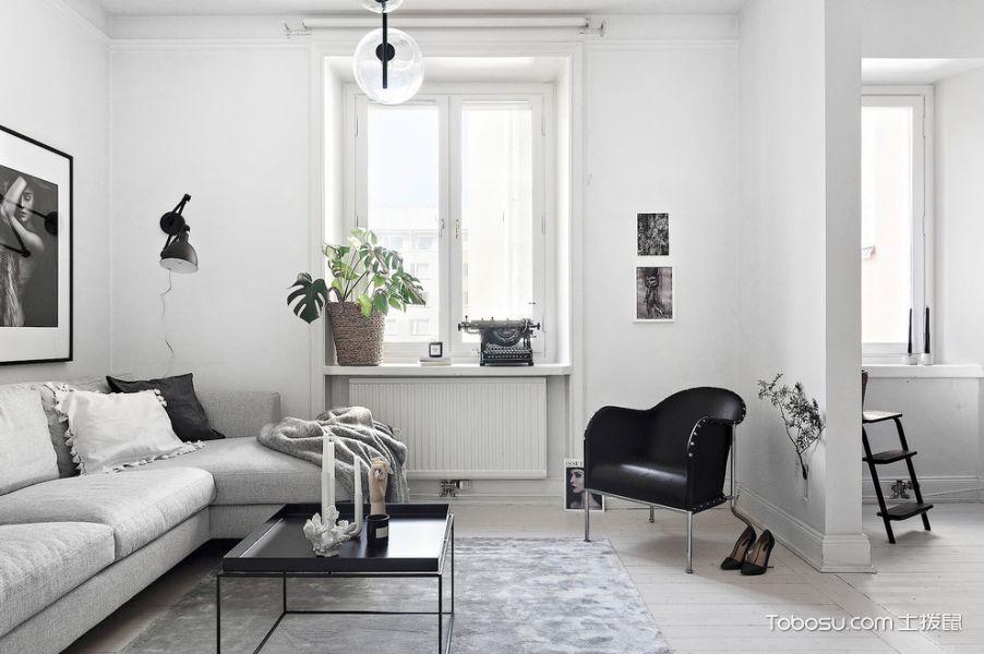 客厅北欧风格装修效果图