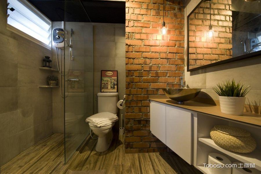 浴室现代风格效果图大全图片