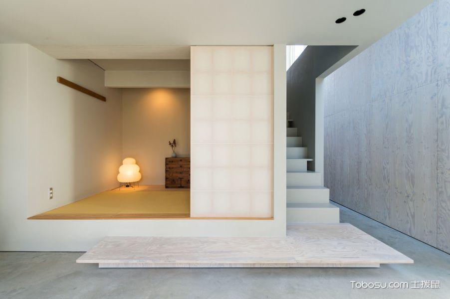 楼梯日式风格效果图大全2017图片