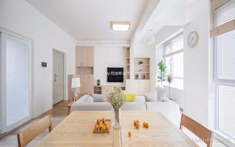 100平米北欧极简风格室内装修效果图