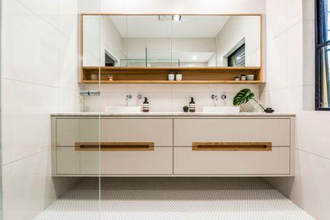 浴室北欧风格效果图大全2017图片_土拨鼠个性舒适浴室北欧风格装修设计效果图欣赏