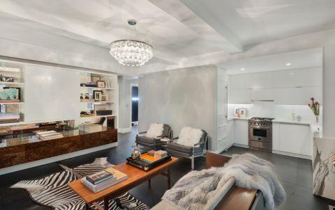 客厅现代风格效果图大全2017图片_土拨鼠简洁质感客厅现代风格装修设计效果图欣赏
