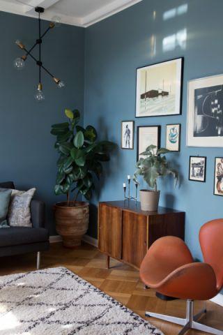 客厅北欧风格效果图大全2017图片_土拨鼠极致舒适客厅北欧风格装修设计效果图欣赏