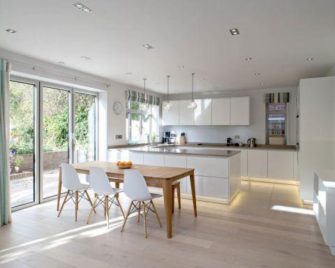 厨房北欧风格效果图大全2017图片_土拨鼠休闲奢华厨房北欧风格装修设计效果图欣赏