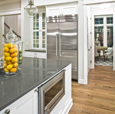 厨房橱柜简欧风格装饰设计图片