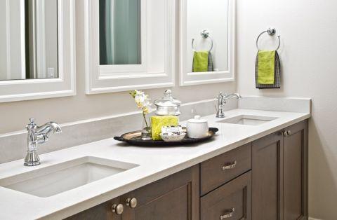 厨房橱柜简欧风格效果图