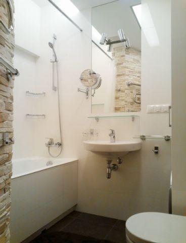 浴室洗漱台北欧风格装潢设计图片