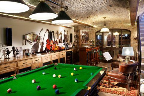 地下室橱柜地中海风格装修效果图