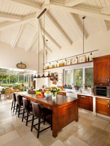 厨房吊顶地中海风格装饰效果图