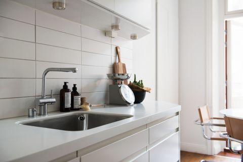 厨房背景墙北欧风格效果图
